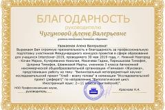 Благодарность-Чугуновой-А.В